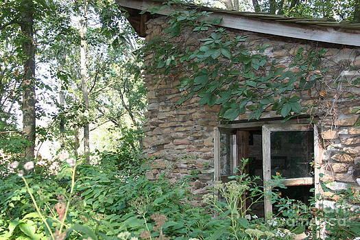 Stone Building by Patty  Thomas