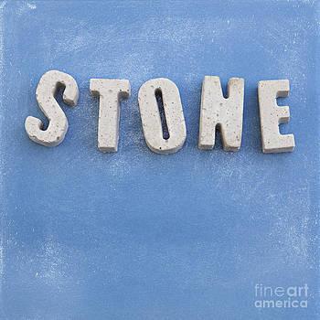 Sophie McAulay - STONE concrete letters