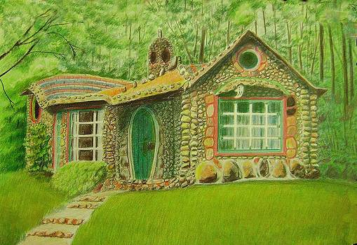 Stone Cottage by Ruth Seal