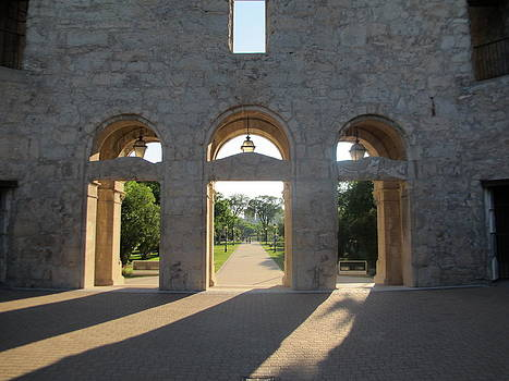 Stone Gateways in Light by Pamela Funk