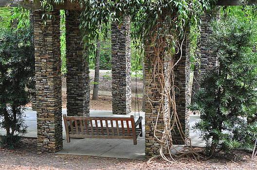 Stone Gazebo by Dustin Bridges