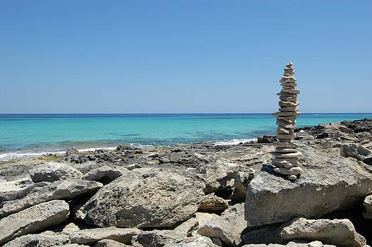 Nano Calvo - Stone Sculpture On Llevant Beach