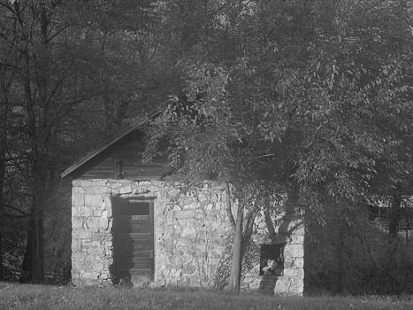 Stone shed by Mark C Ettinger