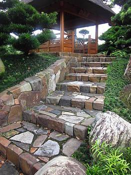 Cherie Sexsmith - Stone staircase