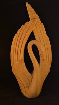 Stone Swan by Michael Sokalski