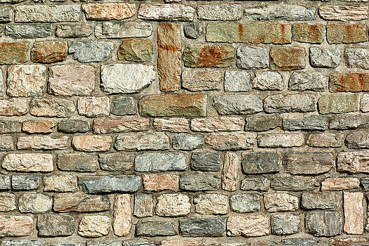 Stone wall by Charles Lupica