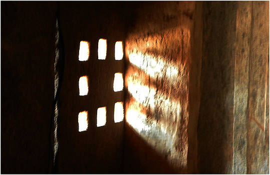 Stone Window by Nandan NAGWEKAR