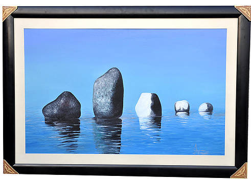 Stones And Water by Shazia Saeed