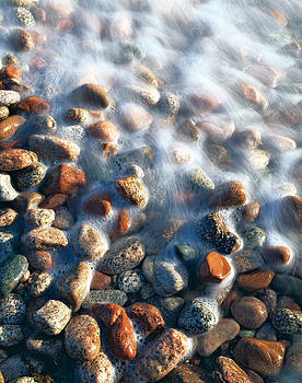 Stones in water by Efim Chernov
