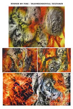 Stones on Fire Transcendental Textures by Dov Lederberg