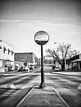 Stop For Pedestrians In Crosswalk  by Dustin Soph