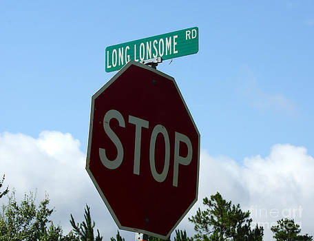 STOP Long Lonsome Road by Kim Pate