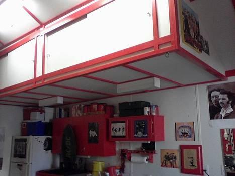 Storage Loft In Studio by Edward Pebworth