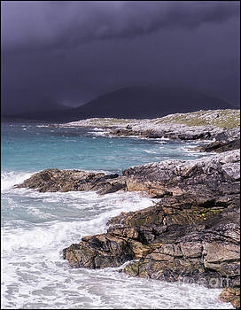Storm Approaching Luskentyre by George Hodlin