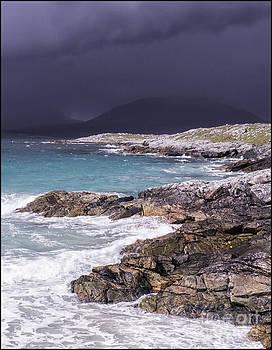 Storm Approaching Luskentyre by George Hodlin