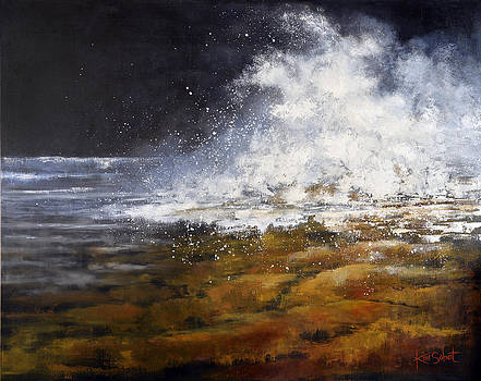 Storm at Frenchman's Reef II by Kim Sobat