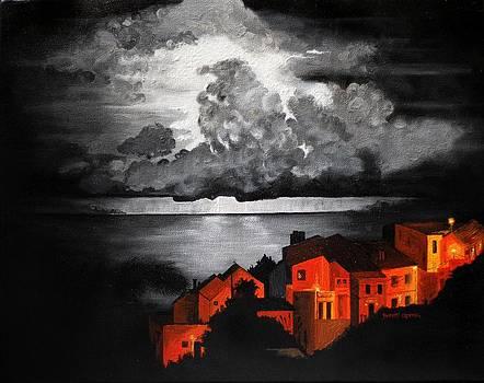 Storm at Madeira by Robert Crooker