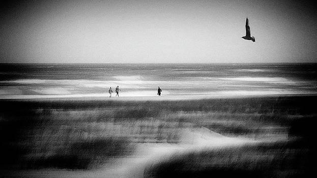 Storm At Sea by Jacqueline Van Bijnen