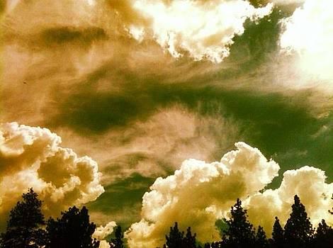 Storm clouds  by Natalya Karavay