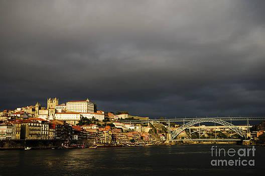 Oscar Gutierrez - Storm Clouds Over Porto Portugal
