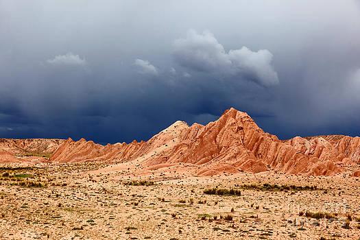 James Brunker - Storm Clouds over the Desert