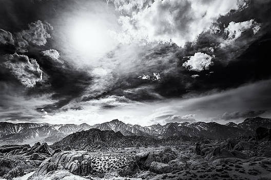 Storm in the Alabama Hills by Jennifer Magallon
