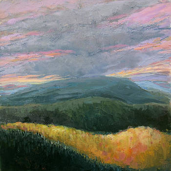 Storm Layers by Mary Brooking