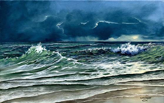 Storm off Yucatan by Lynne Wright