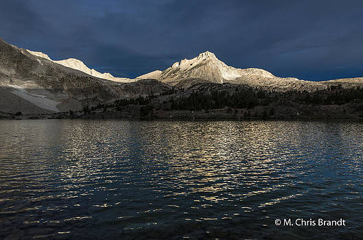 Storm over Greenstone Lake by M Chris Brandt