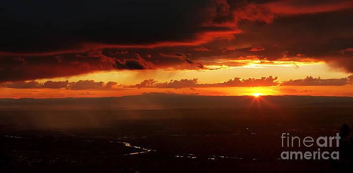 Storm over Rio Grande by Matt Tilghman