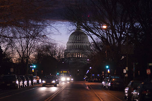 Storm Over the Capitol by Lisa Missenda