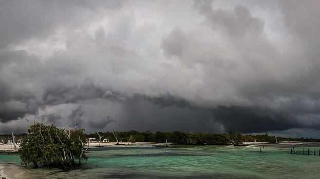 Storm over the Caribbean  by Michael Trofimov