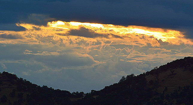 Storm Over the Valley by AJ  Schibig