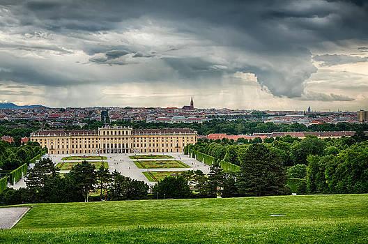 Storm Over Vienna by Viacheslav Savitskiy