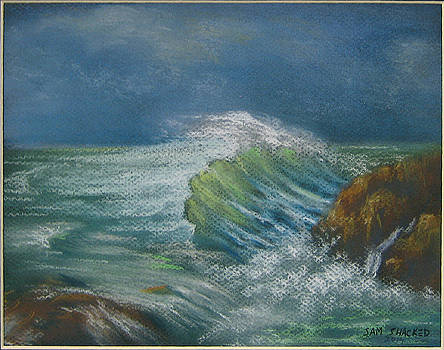 Storming waves by Sam Shacked