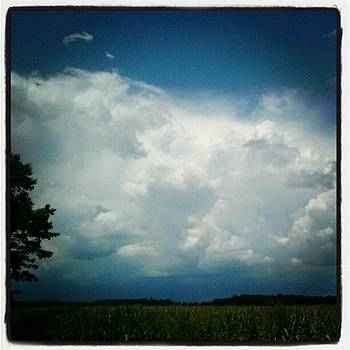 Storm's A-brewing... #hoosierskies by Sandy MacGowan