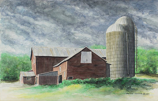 Storms A Comin by Marshall Bannister