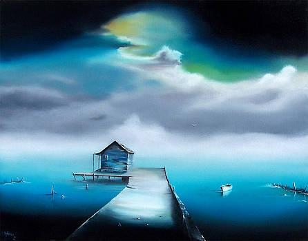 Storm's Approach by David Fedeli