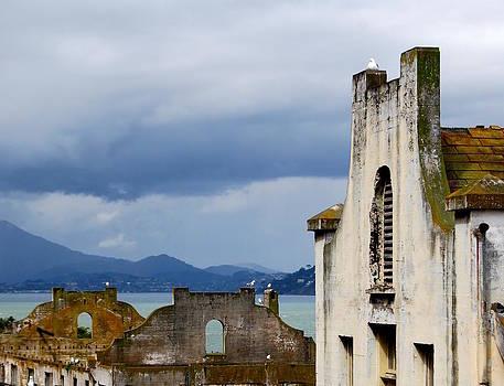 Stormy Alcatraz by Mamie Gunning