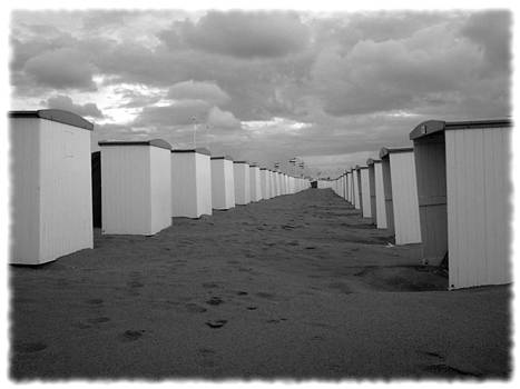 Richard Reeve - Stormy Beach Huts