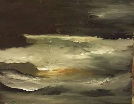 Stormy Coast by Gregory Dallum