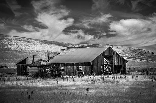Bruce Bottomley - Stormy Day Old Barn