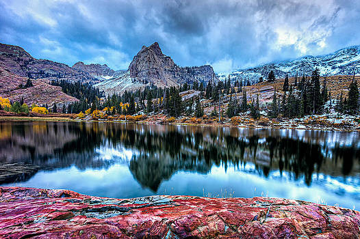 Stormy Lake by Kevin Rowe