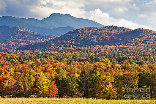 Stormy Mount Mansfield by Alan L Graham