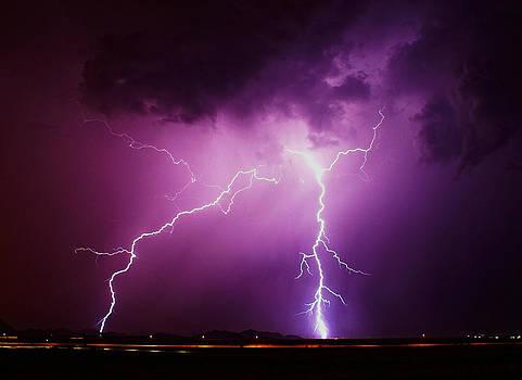 Stormy night by Broderick Delaney