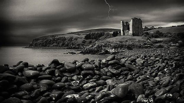Stormy night in Ireland by Dick Wood