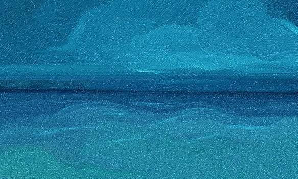 Stormy ocean by Alice Butera