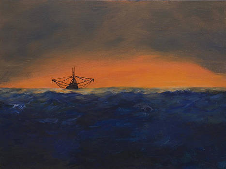 Stormy Sea by J Cheyenne Howell
