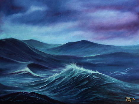 Stormy Sea by Patrick Mayne