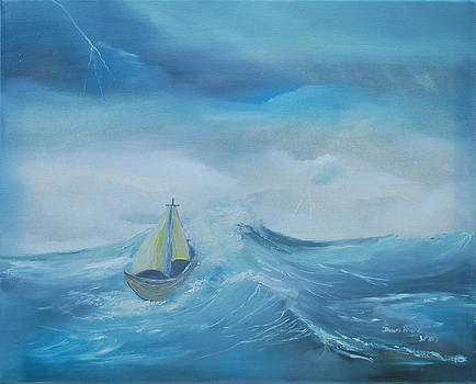 Stormy Seas by Dawn Nickel